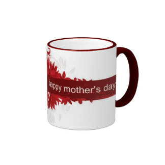 Taza feliz del día de madres