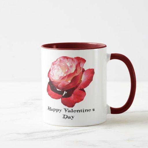 Taza feliz del el día de San Valentín