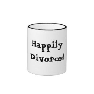 Taza feliz divorciada