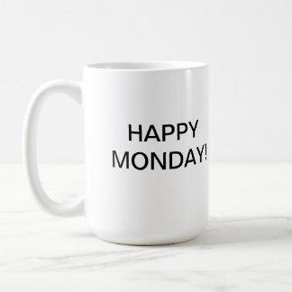 Taza feliz/taza de lunes