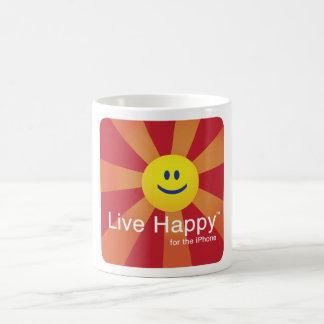 Taza feliz viva