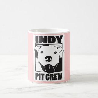 Taza femenina del equipo en boxes de Indy