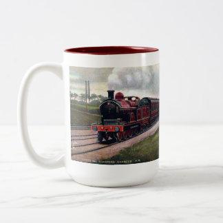 Taza ferroviaria del recuerdo - Leeds y Bradford
