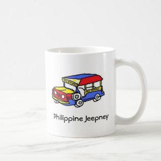 Taza filipina de Jeepney