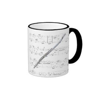 Taza - flauta con partitura