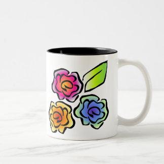 Taza floral 3