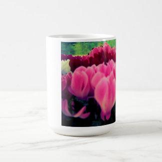 Taza floral bonita