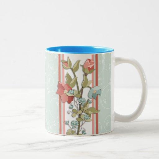 Taza floral de Provence