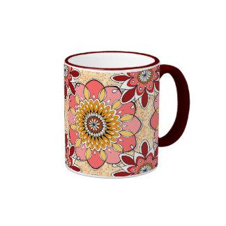 Taza floral Drinkware de la explosión