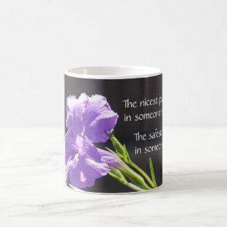 ¡Taza floral, sorprendiendo para ser en alguien re