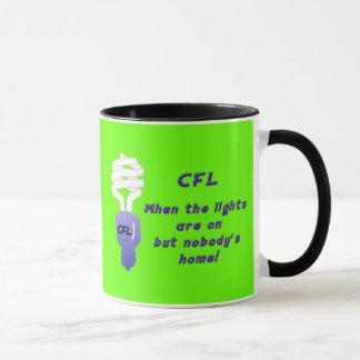 Taza fluorescente compacta de las bombillas (CFL)