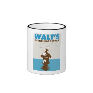 Taza Flyfishing del servicio de Walt