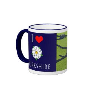 Taza fotográfica de Yorkshire del amor de I