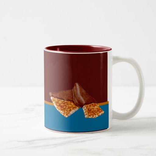 Taza frágil de cacahuete