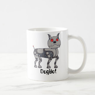 Taza fresca de DogBot