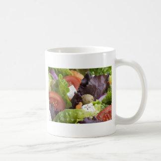 Taza fresca de la ensalada