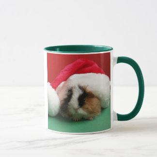 Taza fresca del conejillo de Indias del navidad