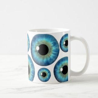 Taza fresca del personalizado del globo del ojo