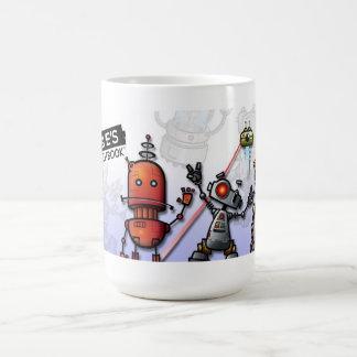 Taza fresca del robot