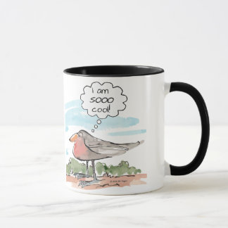 Taza fresca, pájaro fresco