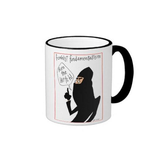 Taza fundamentalista feminista