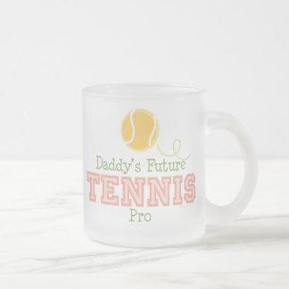 Taza futura del tenis del papá favorable