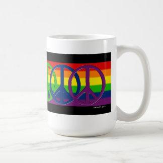 Taza gay de la paz