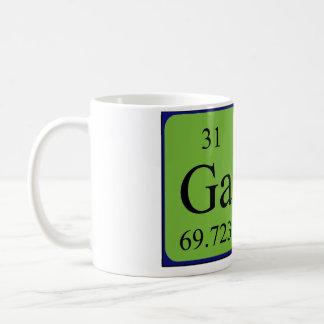 Taza gay del nombre de la tabla periódica