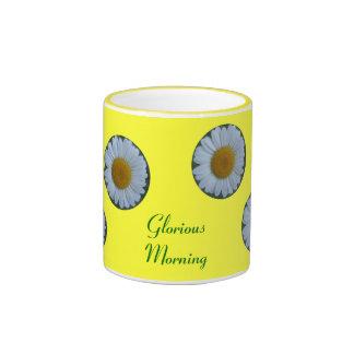 Taza gloriosa de la mañana