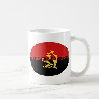 Taza Gnarly de la bandera de Angola