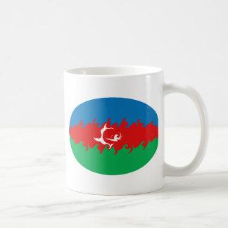 Taza Gnarly de la bandera de Azerbaijan