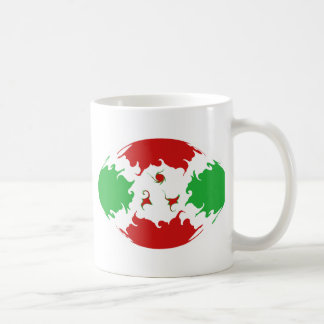 Taza Gnarly de la bandera de Burundi