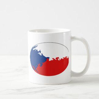 Taza Gnarly de la bandera de Czechia