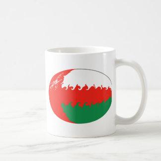 Taza Gnarly de la bandera de Omán