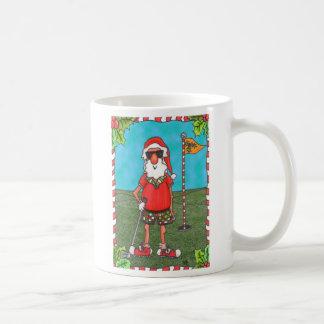 Taza Golfing de Santa