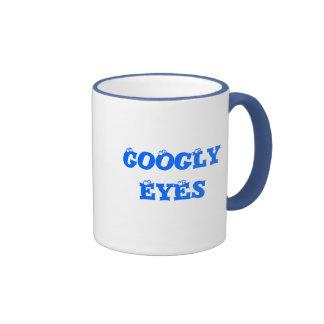 Taza Googly de los ojos