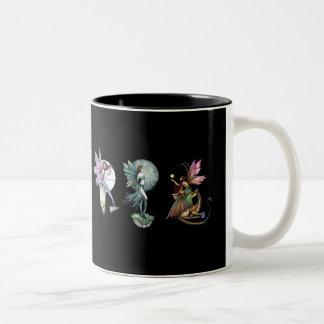 Taza gótica del té del café de las hadas por Molly