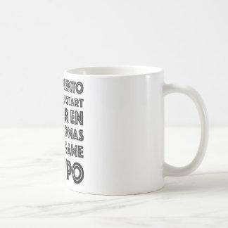 Taza Graciosa Para Los Estudiantes De Inglés Coffee Mug