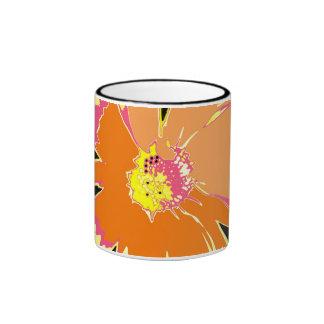 Taza grande de la flor