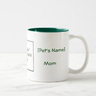 Taza grande de la mamá del mascota