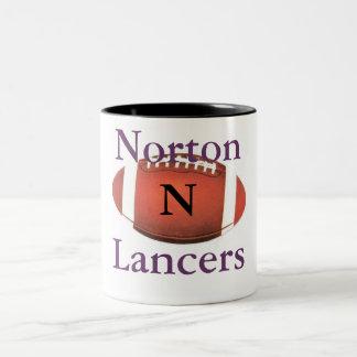 Taza grande de los lanceros de Norton