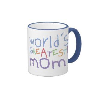 Taza grande del campanero más grande de la mamá de