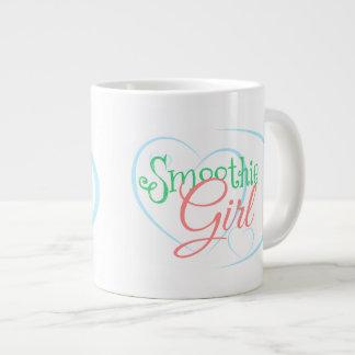 Taza grande del chica del Smoothie