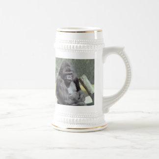 Taza grande del gorila de Gunns