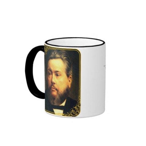 Taza grande del vintage de Charles Spurgeon