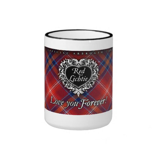 ¡Taza grande - Lichite rojo - ámele para siempre!