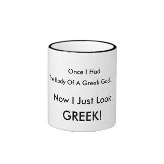 Taza griega del humor