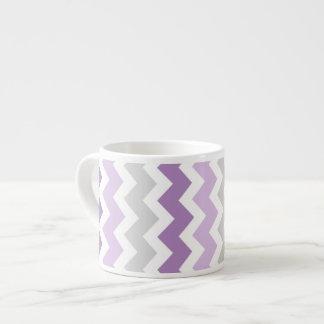 Taza gris púrpura del café express del modelo de l taza espresso