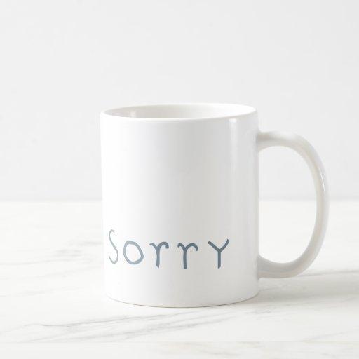 taza gris triste