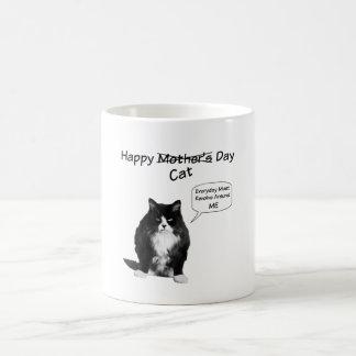 Taza gruñona del día de Cat Mother